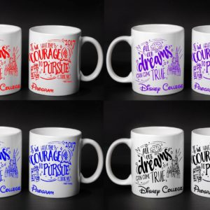 College Program Mugs
